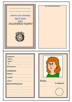 Carta d'identità della mamma