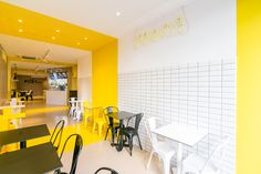 Pico's Grill Restaurant by PPT Interiorismo. Bakery Interior, Coffee Shop Interior Design, Coffee Shop Design, Cafe Design, Store Design, Small Restaurant Design, Grill Restaurant, Small Restaurants, Monki
