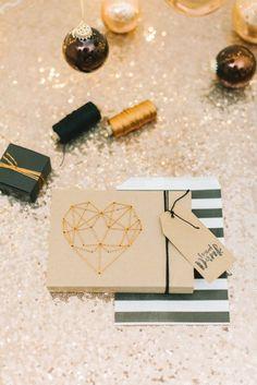 DIY Geometrisches Herz von Fräulein K sagt Ja mit GARN & MEHR
