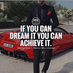 It all starts with a dream. #millionairemindset #projectmillionaire #fownders #educational #entrepreneurial #finances #happythursday #dreamsandnightmares #mindsetiseverything #grinders #grindhard #Hustlehard #instagod #goals #successtips