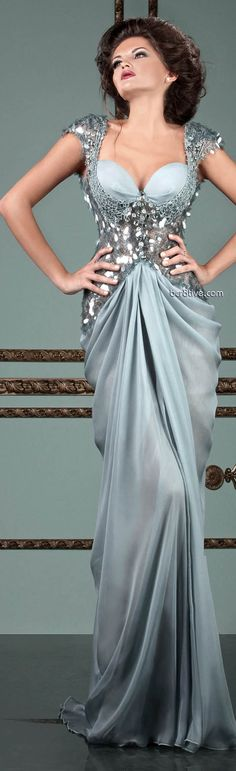 Mireille Dagher Spring Summer 2013 Ready to Wear. This would be amazing on a curvy figure