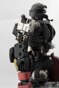 GUNDAM GUY: MG 1/100 Char's Custom Zaku II 2.0 - Custom Build