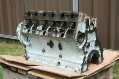 Landrover Rover 2.6Ltr 6cyl Engine Block Ex Army