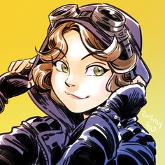 Selina Kyle in Gotham. by SEN