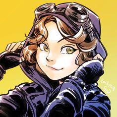 Selina Kyle in Gotham. by SEN