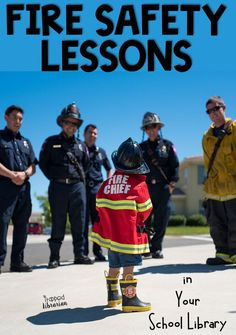 Are you looking for ideas for fire prevention week activities for your kindergarten, first grade, and second grade students. Get fire safety lesson plan ideas for your elementary library or classroom. #thetrappedlibrarian #firepreventionweek Elementary Library, Elementary Schools, First Grade, Second Grade, Fire Prevention Week, Information Literacy, Teacher Librarian, Library Lessons, School Events