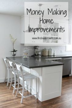Home improvements to help you make money from your home, are simple and not…
