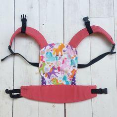 Custom handmade mini SSC full buckle doll carrier similar to Tula and Ergo baby carriers unicorn, Foxy, Cupcake, Bliss on Etsy, $43.14