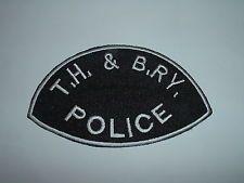 Toronto, Hamilton & Buffalo Railway Police cloth shoulder patch Ontario CANADA