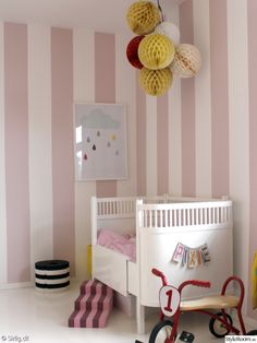 love every single detail in this nursery-Interior Pictures by Sirlig.dk - StyleRoom