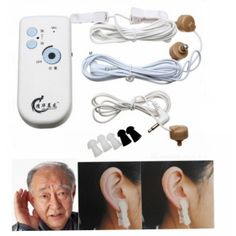 Electric Tinnitus Treatment Instrument Ear Hearing Repair Device White