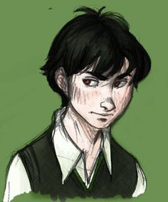 Young Tom Riddle by whitecats on deviantART