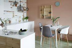 6 enkle råd for innredning av små leiligheter Co Housing, Studio Layout, Flat Ideas, House Goals, Small Apartments, Home Decor Styles, Interior Inspiration, Office Desk, Sweet Home