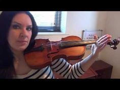 Pinner says: this lady is the best beginner guide for online violin lessons that I've found so far.