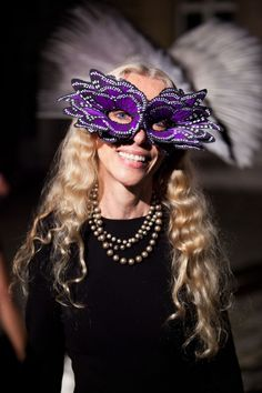 Luna Lovegood?? What are you doing at Vogue's 90th anniversary party??