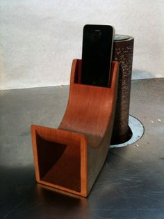 Passive iPhone Speaker by NashuaaConstructions on Etsy, $50.00