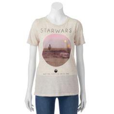 Juniors'+Star+Wars+Luke+Skywalker+T-Shirt