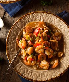 9. Chicken, Sausage, and Shrimp Gumbo #healthy #dinner #recipes http://greatist.com/eat/healthy-dinner-recipes-for-two