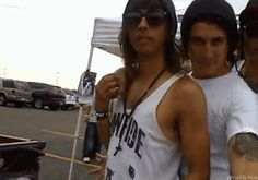 Jaime and Vic. Lol they look like some Hollywood couple or something. (':  Awh aren't they just adorable!