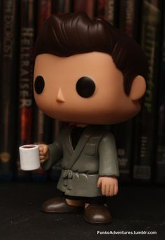 Supernatural MoL Bunker Dean Winchester Custom Funko by MistyFigs - I WANT!!