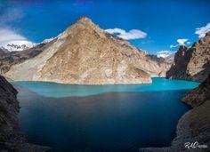 Attabad Lake And The Rugged Karakoram Mountains | Attabad Lake Gojal Pakistan | By Rao Mubasher [1108x803]