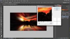 Creating an abstract image from a photograph.