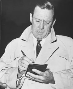 William Holden Signs Autograph 1950's