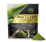 Matcha Green Tea Powder (Premium Culinary Grade)  USDA Organic  Vegan Certified  30g (1.06 oz)  Perfect for Baking Smoothies Latte Iced Tea. Perfect Dietary Supplement Gluten & Sugar Free