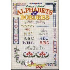 Alphabets & Borders Decorative Cross Stitch Patterns