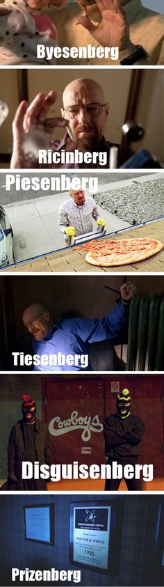 The many faces of Heisenberg…