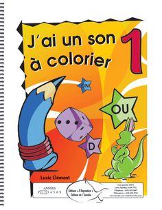 Ces documents constitués de phrases joliment illustrées traitent des sons des 1re et 2e années. Les exercices simples consistent pour l'enfant à colorier des dessins selon ce qu'il lit. C'est un outil idéal pour les lecteurs débutants, un outil qui permet de joindre l'utile à l'agréable.