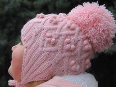 Детские шапочки с ушками | Ажурное чудо