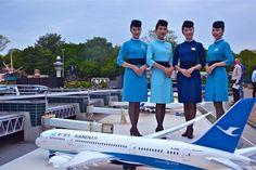 【China】 Xiamen Airlines cabin crew / 厦門航空 客室乗務員 【中国】 Girls, Toddler Girls, Daughters, Maids