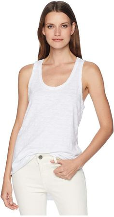 fc1478925b6e5 Dylan by true grit go to soft slub shirt tail tank tee