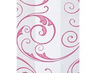 Christmas Print Cello Bags - Jewel Swirl Pink 5x3x11' Cello Bags 1.2 mil (frosted accents) (2 Packs