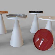 SPOT tavolino realizzato in Adamnatx® e Lamiera da Alessandro Canepa