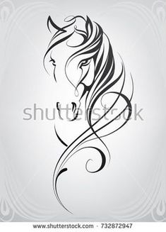 Horse Head In Ornament