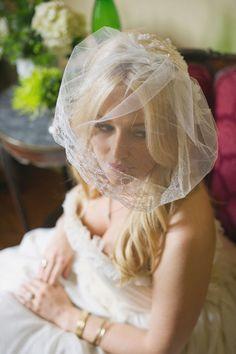 Really loving the shorter veils