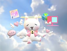 Cute Images, Cute Pictures, Toro Inoue, Cool Stuff, Cybergoth, Cute Icons, Art Plastique, Cute Art, Art Inspo