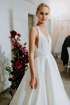 We're so excited to share the Anne Barge Fall 2020 collection with our brides! The latest collection from Anne Barge features the romantic and feminine silhouettes that Anne Barge is known for… White Bridal Dresses, Little White Dresses, Princess Wedding Dresses, Best Wedding Dresses, Designer Wedding Dresses, Wedding Dress Guest, Wedding Dress Petite, Lace Wedding, Peacock Wedding