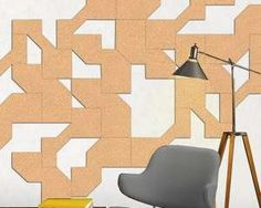 Corkscapes are hand cut cork wall coverings, carved from sheets of cork so you can easily pin things to them as you would with a cork board Large Chair, Cork Wall, Cork Tiles, Office Walls, Designer Wallpaper, Design Inspiration, Wall Decor, Creative, Etsy