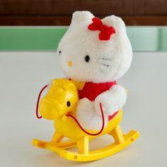 ヤフオク! - ハローキティの乗馬あそび キティちゃん Hello Kitty Toys, Cat Toys
