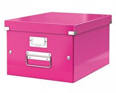 Pinkki säilytyslaatikko