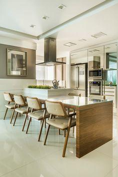 AP JF | 2015: Cozinhas modernas por VOBOL ARQUITETURA E INTERIORES