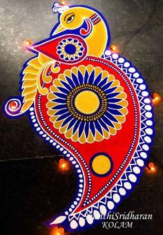 51 Diwali Rangoli Designs Simple and Beautiful - Negin - HotelsPedi Simple Rangoli Designs Images, Rangoli Designs Latest, Rangoli Designs Flower, Rangoli Border Designs, Rangoli Ideas, Rangoli Designs Diwali, Diwali Rangoli, Flower Rangoli, Beautiful Rangoli Designs