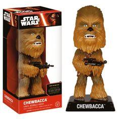 Funko Chewbacca Star Wars Episode VII 6241 Wacky Wobbler Bobble Head 15 Cm for sale online Darth Vader Star Wars, Mark Hamill, Funko Pop Star Wars, Star Wars Toys, Vinyl Toys, Funko Pop Vinyl, Chewbacca, Caza Tie, Star Wars Episodio Vii