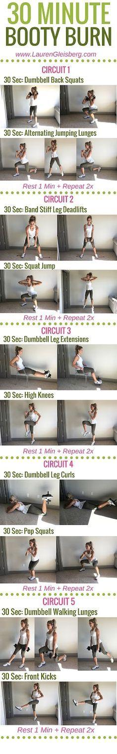 LGFitmas Challenge: BOOTY BURNING LEGS & GLUTES (W1D1)   Lauren Gleisberg   Happiness, Health, & Fitness
