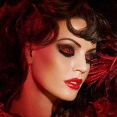 Moulin Rouge makeup