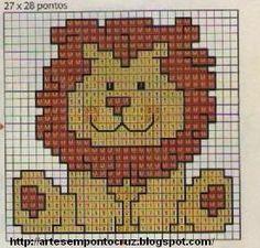 lion cross stitch patterns