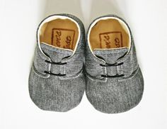 Sparrow Grey Boys Sneaker by WrensNestBabyShoes on Etsy, $34.00
